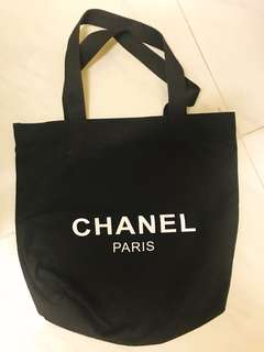 100%NEW Chanel 黑色布袋