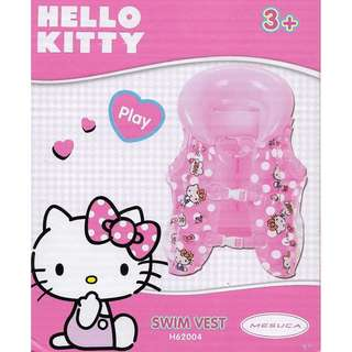 Sanrio Hello Kitty Pink Inflatable Swimming Vest Float