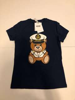 Moschino 修身 Tee (Navy)