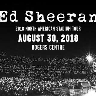 Ed Sheeran Floor Seats *priceforboth*
