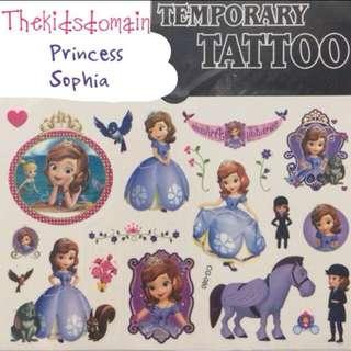 Cartoon Temporary Tattoo