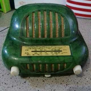 Radio FM AM Antique, Sonora Sonorette 50, France, 1950 Miniature..Made In France