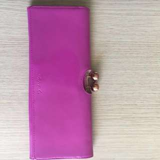 Pink Ted Baker Clutch
