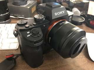 Sony a7II with lot of accessories