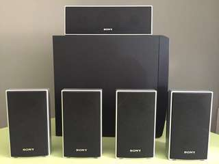 Pre-loved Sony Speakers