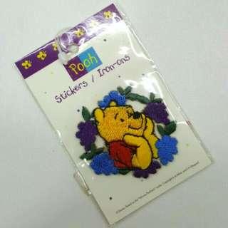FREE NM📬Brand New Authentic Disney Winnie The Pooh Sticker / Iron-On