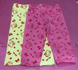 Preloved Hello Kitty Leggings