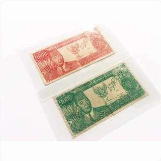 Duit Kertas Lama President Soekarno 1964