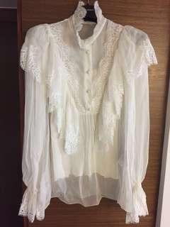 Dolce and Gabbana chiffon blouse