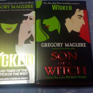 Gregory Maguire:Wicked and Son of a Witch Bundle