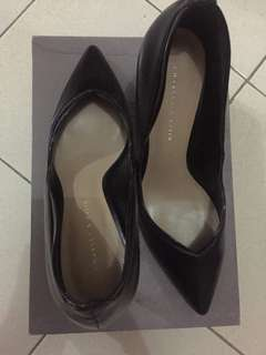 Charles & Keith Black Shoes