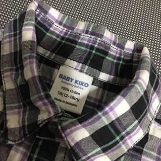 Kiko checkers shirt (to bless - free)