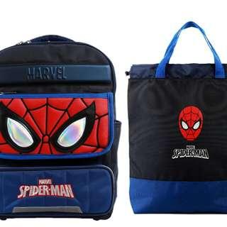 只限訂購㊣韓國 Marvel Spider Man 蜘蛛俠背包$855 照價9折 (收訂起约20個工作天交收)