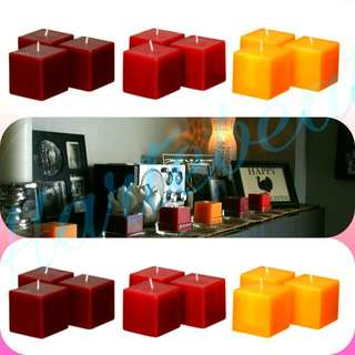 Square Tealight Candles
