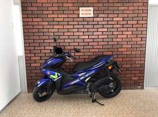 Coverset Yamaha NVX Movistar Original