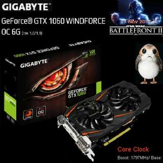 Gigabyte GTX 1060 WINDFORCE OC 6G. (Ex-Stock Today)