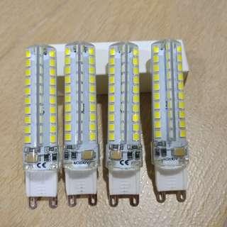 7W G9型號 LED 燈 正白光 220v