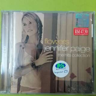 JENNIFER PAIGE flowers the hits collection