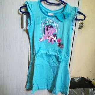 New Little Pony Girl's Dress