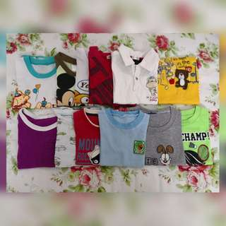 Take all t-shirt 2-3 years old