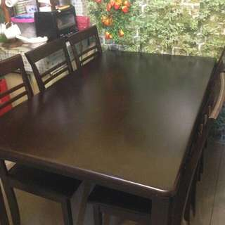 6seater dining set