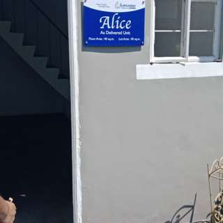 Alice townhouse in lancaster new city cavite