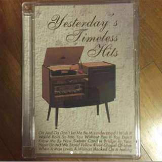 Yesterday's Timeless Hits ( CD )