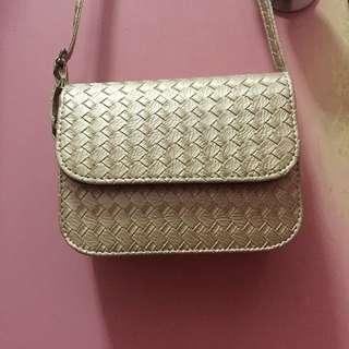 Bottega Veneta inspired satchel