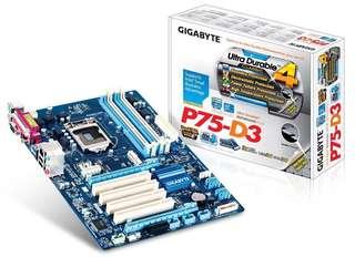 GIGABYTE P75-D3 + i7 3770 3.40ghz