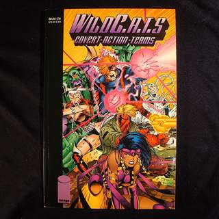 WILDCATS Covert Action Teams Trade Paper Back (1993 Image) Jim Lee