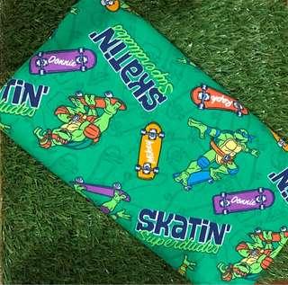 Ninja turtle beany / beanie / husk pillow / pillow case / bolster case