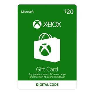 Microsoft Live Card $120