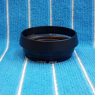 Fuji LA-49X100 black lens hood