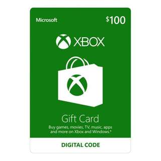 Microsoft Live Card $100