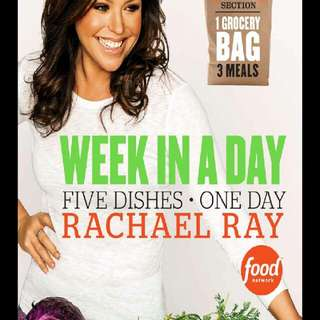 Rachael Ray - Week In A Day