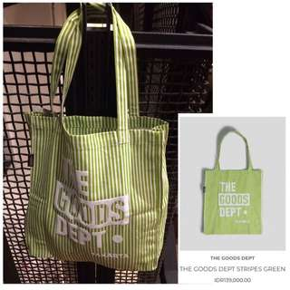 Tote Bag The Goods Dept