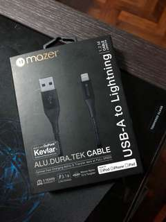 Mazer iPhone cable