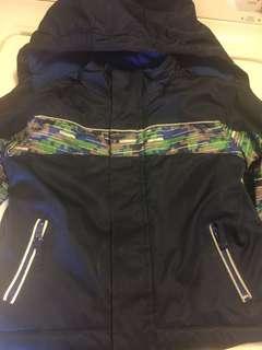 Boys blue winter jacket size 2