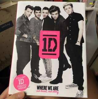 One Direction Autobiography(hard cover)