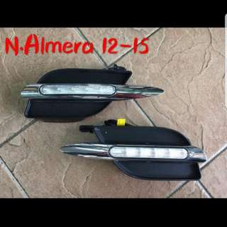 Almera LED Day Running Lamp 13 -15