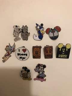 (包郵)清屋-迪士尼襟章Disney pins