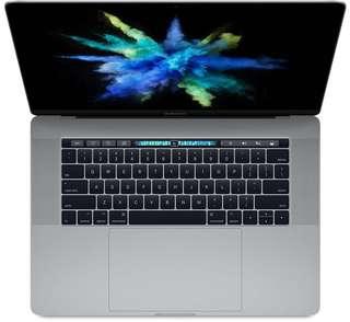 BNIB - Macbook Pro 15' Touch Bar & Touch ID