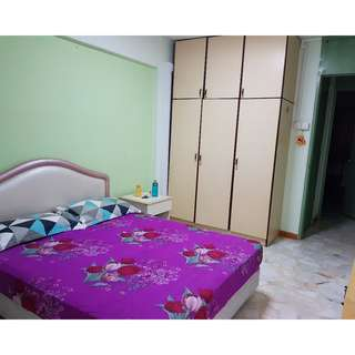 Common / Master Room for Rent in Blk 457 AMK Ave 10- NO AGENT FEE
