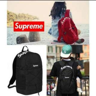 Supreme Backpack BLACK , RED OR BLUE
