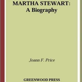 Martha Stewart A Biography
