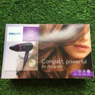 Philips Compact Hairdryer 1600W