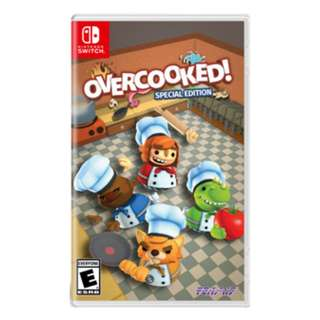 Switch Game OVERCOOKED eShop數位版