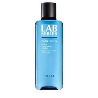 Lab series for men water lotion / toner / hydrater / moisturiser (facial product). Jersey / polo / shirt