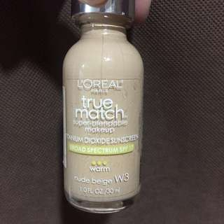 Foundation true match loreal