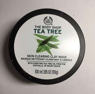 THE BODY SHOP TEA TREE CLAY MASK